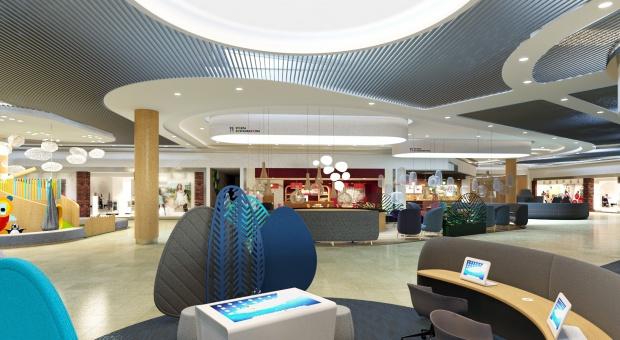 Chillout i technologie na wyciągnięcie ręki. Nowe oblicze centrum Auchan