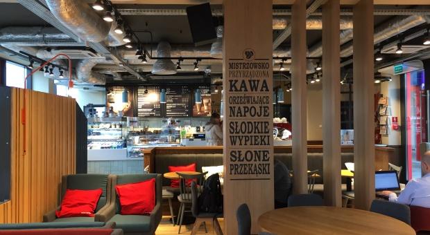 Pierwsza kawiarnia Costa Coffee na warszawskim Tarchominie