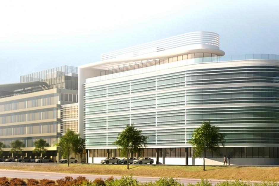 Nowy biurowiec w gdyńskim kompleksie Sportowa Centrum