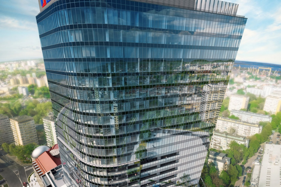 Kluczowa zmiana przy budowie Hanza Tower