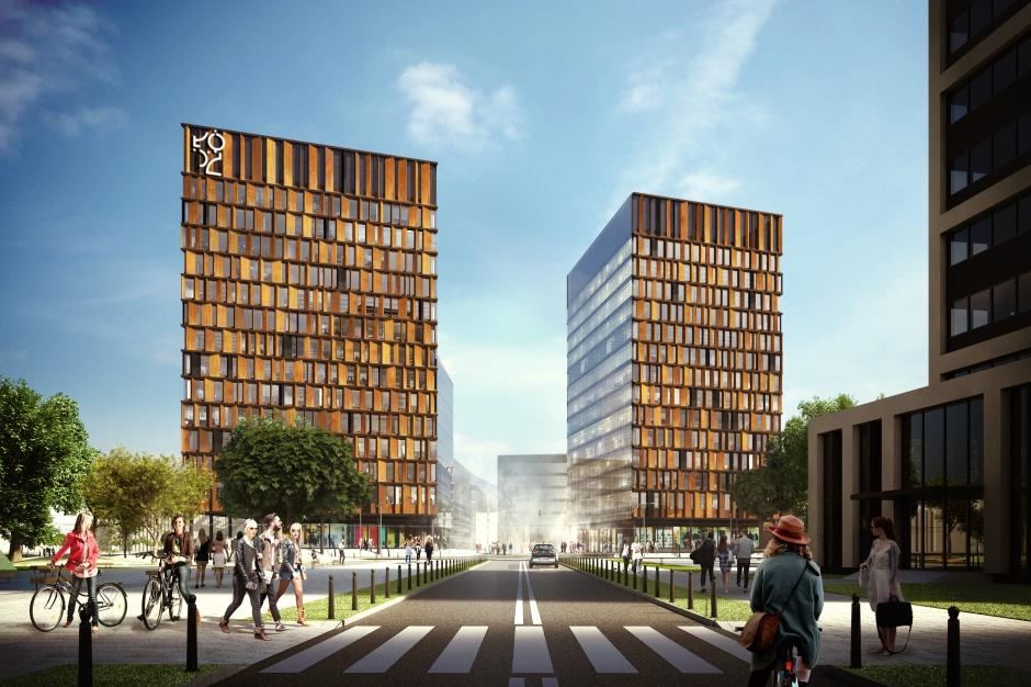 Oto Brama Miasta. Skanska pokazała projekt, który odmieni centrum Łodzi