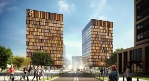 Skanska buduje drugi filar Bramy Miasta