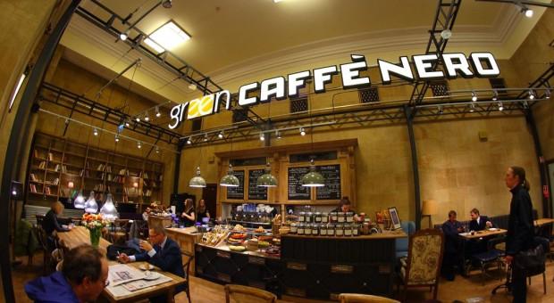 Green Caffè Nero docenia nietypowe lokalizacje