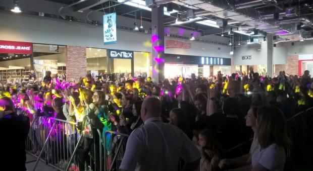 Tłumy na urodzinach Outlet Center Białystok