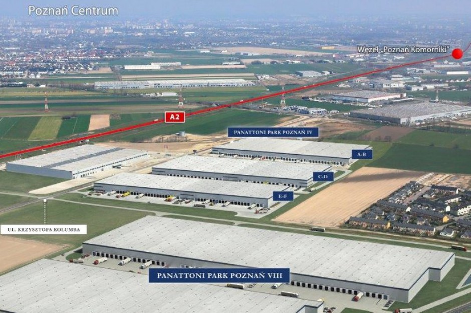 Niemiecka firma wybrała Panattoni Park Poznań