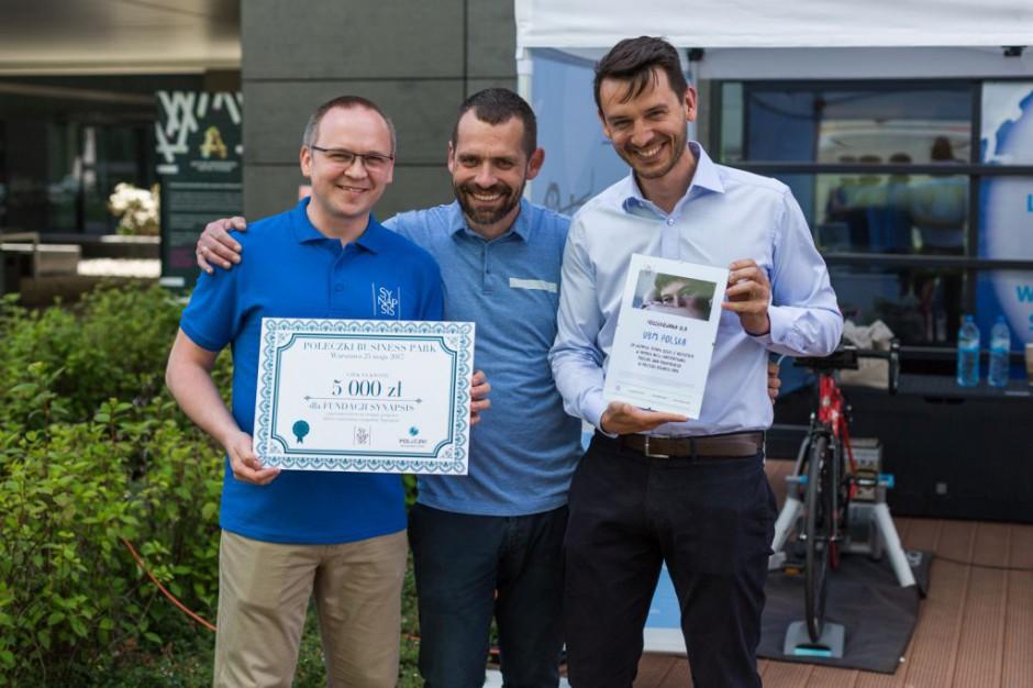 Warszawski biurowiec świętuje Bike Day