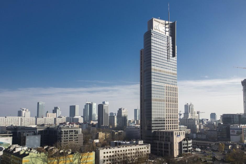 Warszawska wieża przyciąga biznes