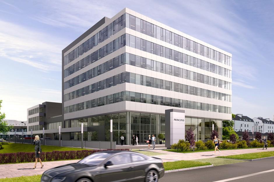 Krakowski biurowiec Principio nabiera kształtów - na budowie i w wynajmie