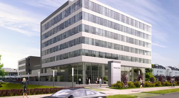 Krakowski biurowiec nabiera kształtów - na budowie i w wynajmie