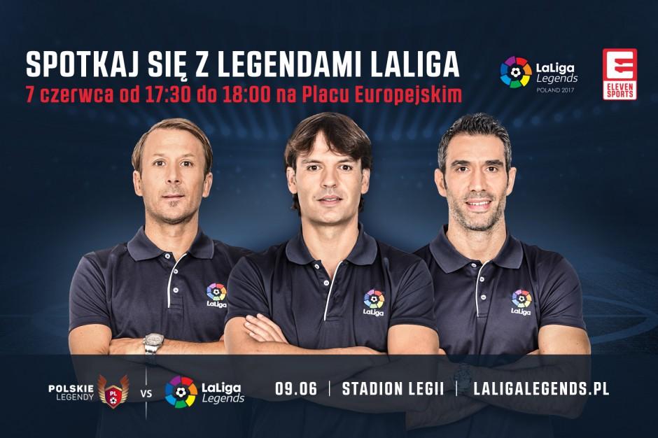 Legendy hiszpańskiej piłki przed Warsaw Spire