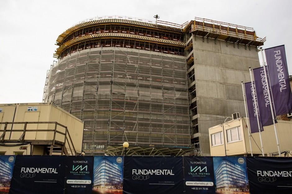 Kameralne biura Villi Metro wchodzą w kolejny etap budowy