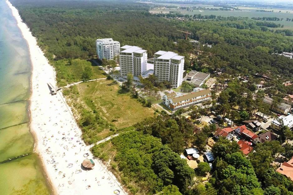 Wielki kompleks apartamentowy z widokiem na morze kusi nabywców
