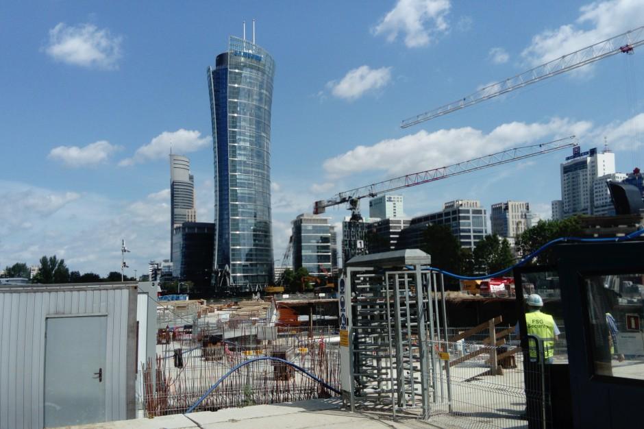 Fotorelacja z budowy nowej inwestycji Ghelamco