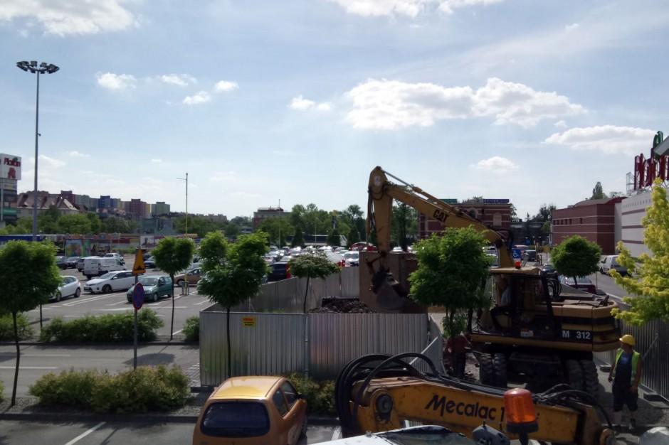 Rozbudowa zabrzańskiego CH Platan nabiera tempa