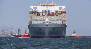 Zobacz jak wygląda największy kontenerowiec świata