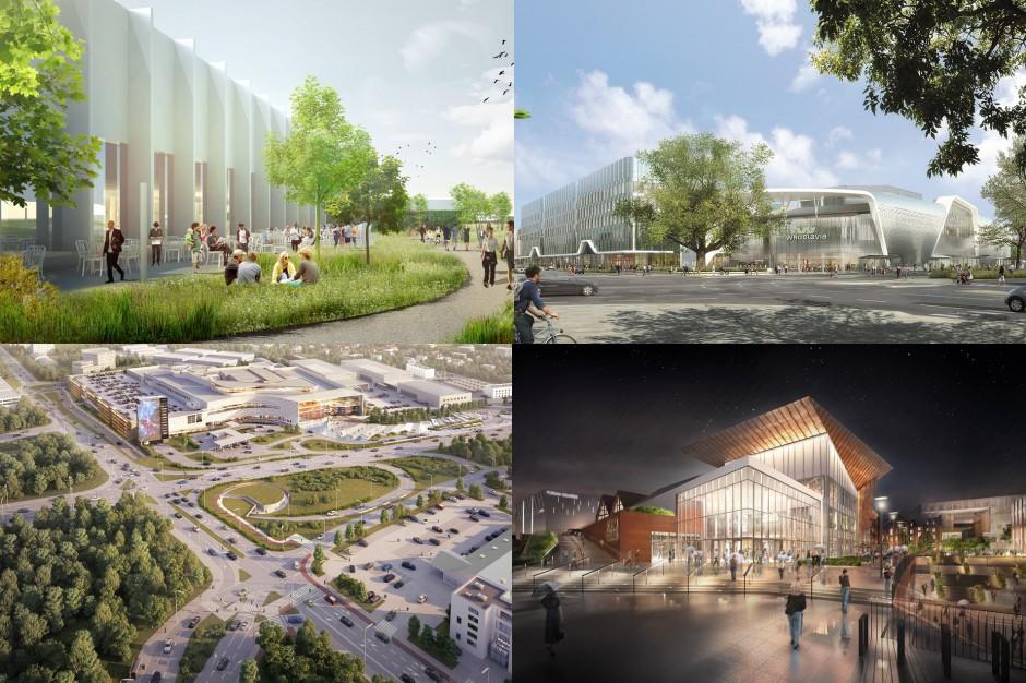 Oto największe projekty handlowe realizowane w polskich miastach