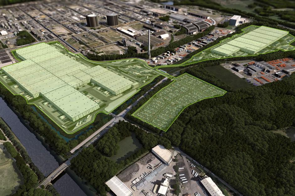 Goodman buduje swoje największe centrum logistyczne w Europie