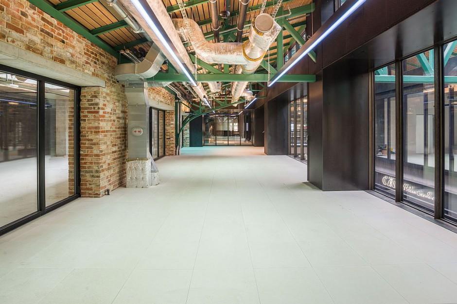 Przestrzeń coworkingowa w Hali Koszyki od października