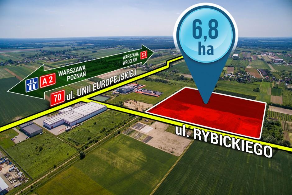 Kompleksowo uzbrojony teren inwestycyjny w Skierniewicach czeka na inwestorów