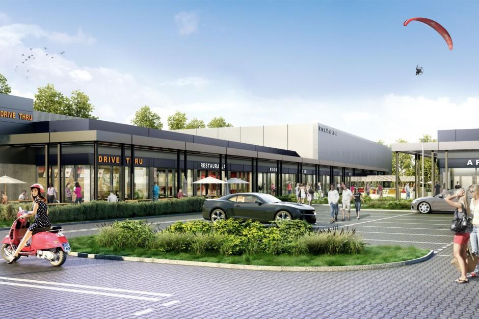 Kolejny projekt Street Mall Vis à Vis na starcie
