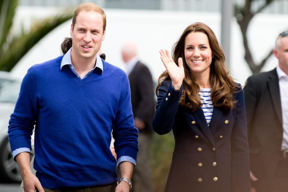 Książęca wizyta w Warsaw Spire. Kate i William odwiedzi The Heart Warsaw