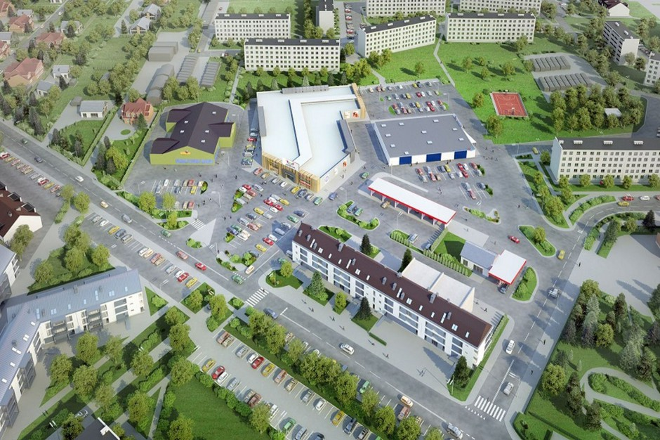 Duży najemca wchodzi do Areny Płońsk