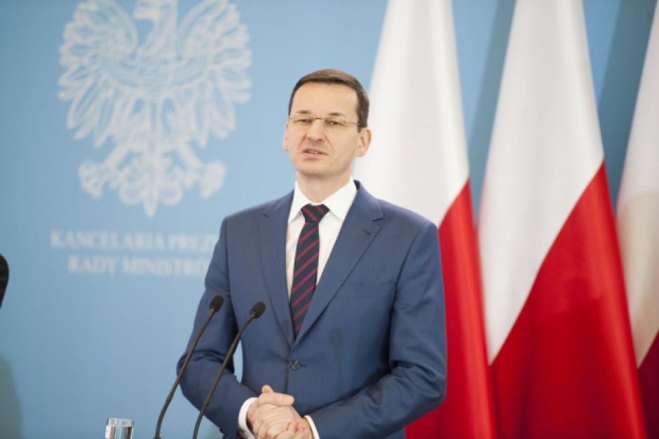 Morawiecki: inwestorzy nie tylko nie uciekną, ale pukają do nas coraz częściej