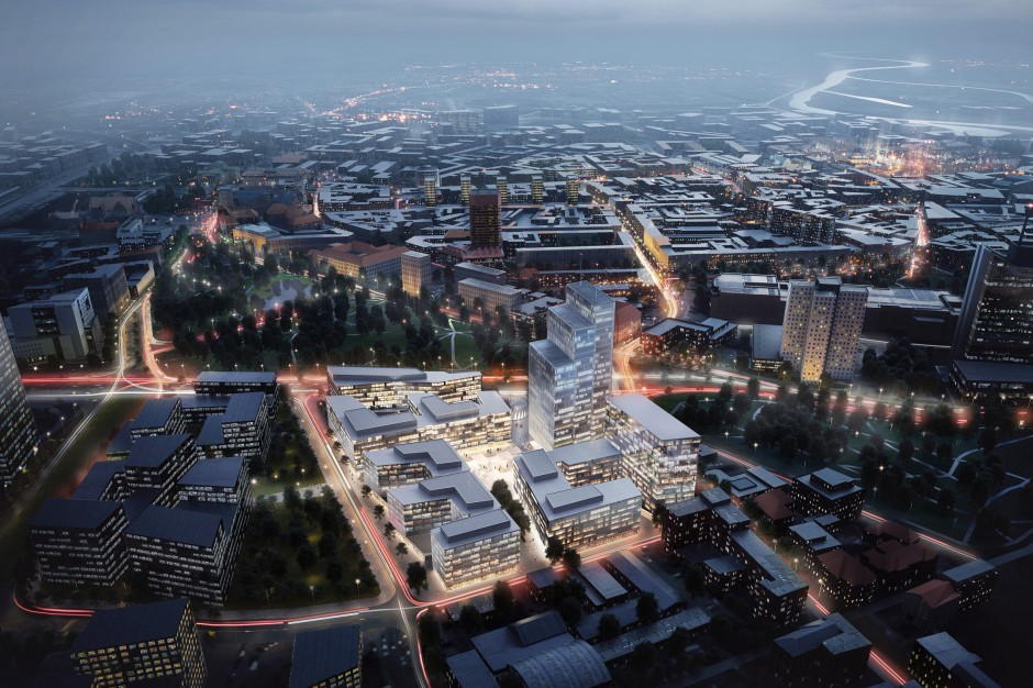 To najbardziej złożony projekt deweloperski Skanska w Polsce