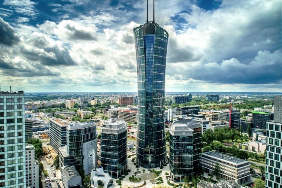 Nowa firma w Warsaw Spire wybrała biuro z dobrym widokiem