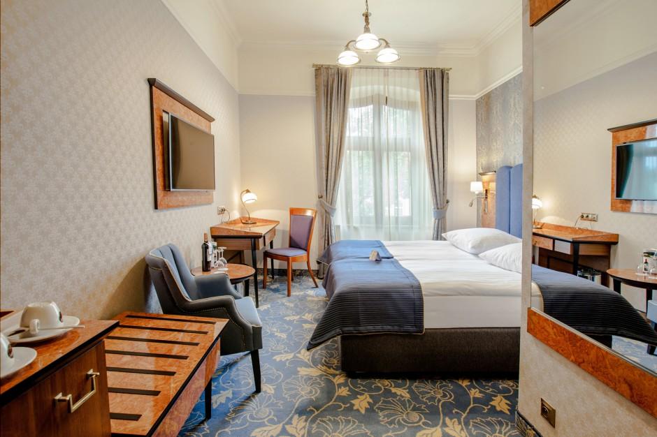 Nowe wnętrza hotelu Diament Plaza Gliwice