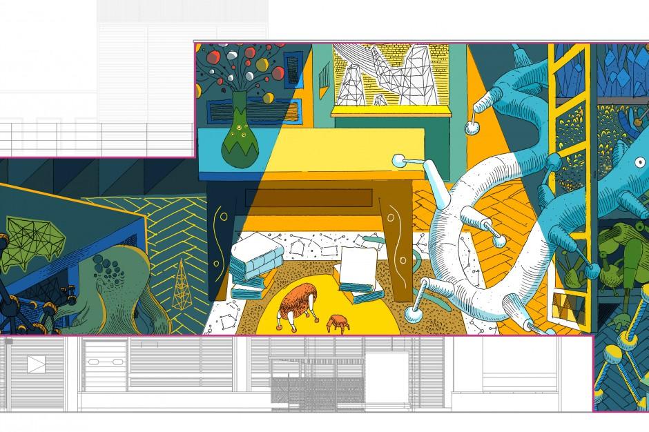 Oto mural, który ozdobi Galerię Krakowską
