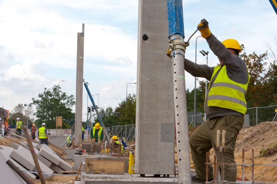Postępuje budowa Outlet Center Bydgoszcz
