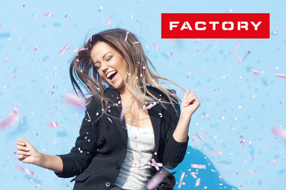 Factory Poznań świętuje 10. urodziny i... rozdaje prezenty