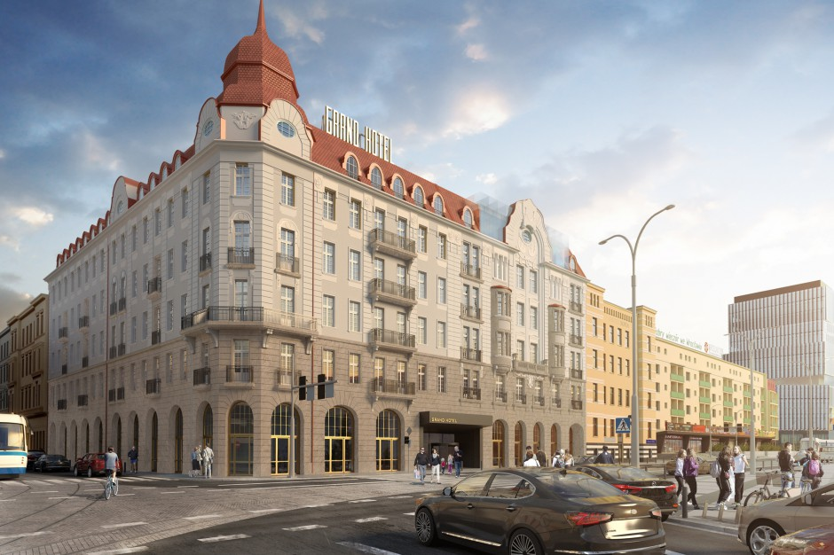 Nowe oblicze hotelu Grand architektoniczną perłą Wrocławia