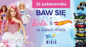 Barbie i Hot Wheels w Galerii Wisła