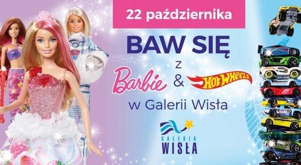 Barbie i Hot Wheels w Galerii Wisła