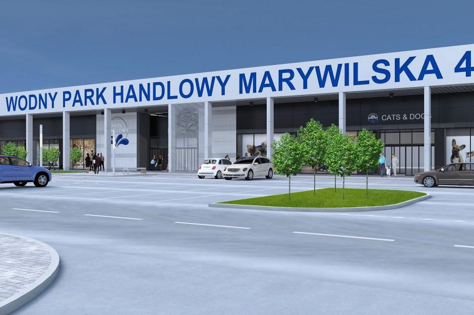 Wodny Park Handlowy Marywilska z pozwoleniem na start