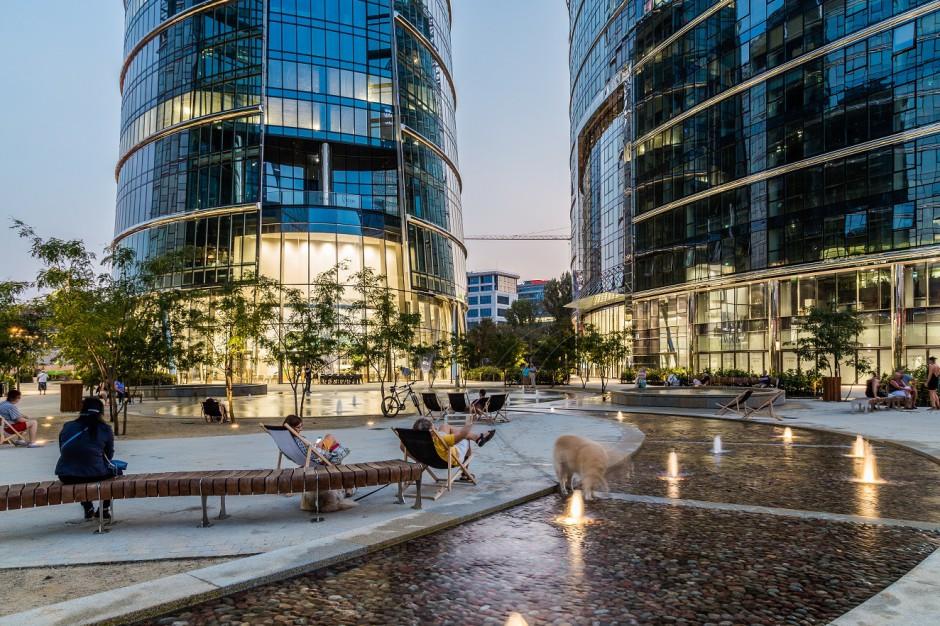 Plac Europejski wyrósł na tętniące życiem lokalne centrum