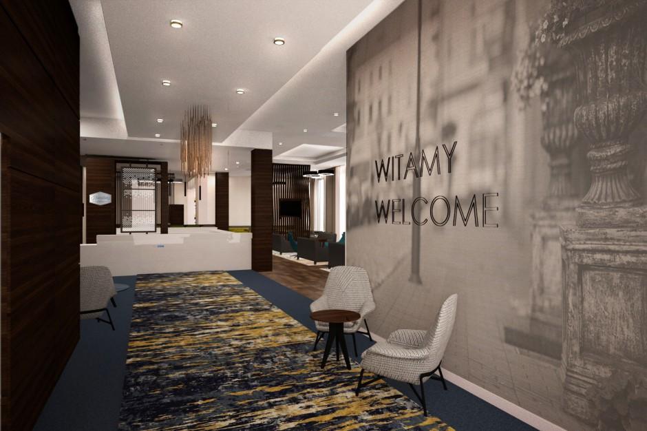Kaliski Hampton by Hilton nabiera kształtów