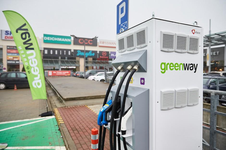 Greenway uruchomił kolejny punkt szybkiego ładowania pojazdów