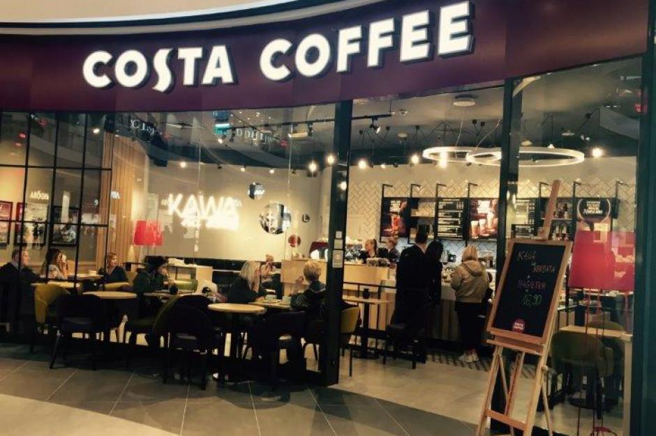 Costa Coffee zwiększa zasięg na stołecznym rynku