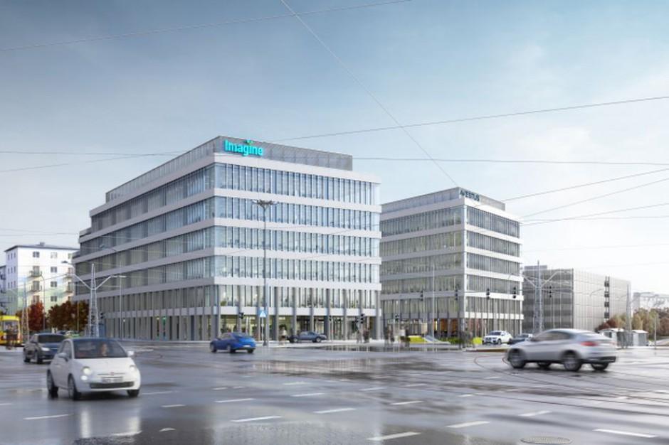 Biurowy Imagine ma zielone światło na start budowy