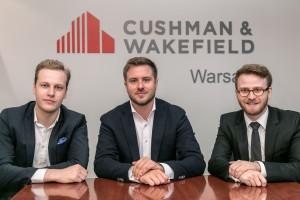 Cushman & Wakefield pod rękę ze start-upem
