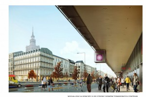 Nowe spojrzenie na plac Centralny w Warszawie