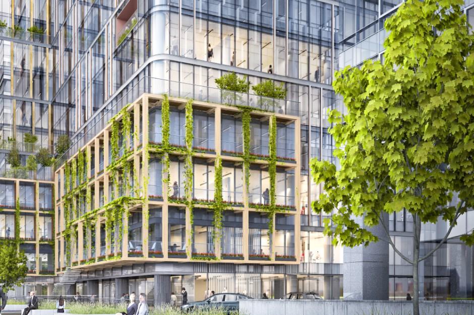 Gdańskie centrum biznesowe zielenieje