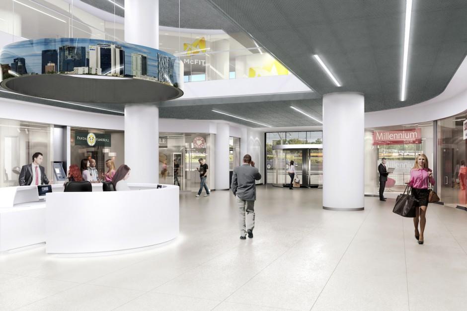 Wielka przemiana Millennium Plaza. Atlas Estates chce wrócić do biurowej czołówki