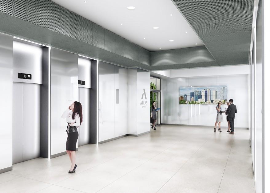 Tak będą wyglądać wnętrza zmodernizowanego biurowca Millennium Plaza