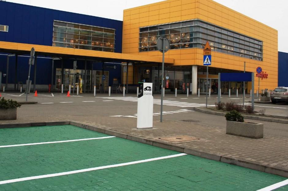 Od Lublina po Kraków. Ikea stawia stacje ładowania samochodów elektrycznych
