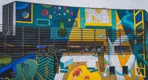 Galeria Krakowska płótnem dla street artu