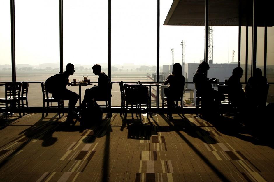 Największe lotnisko świata sparaliżowane